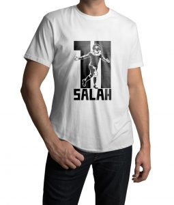Mohamed Salah Logo T shirt