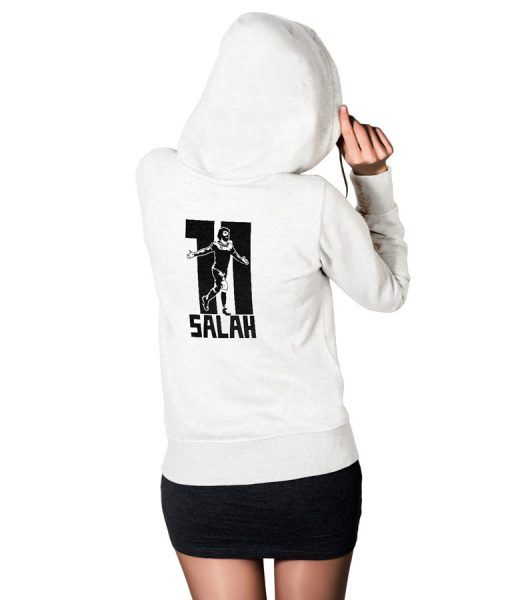 Mohamed Salah Ghaly No 11 Logo Pullover Hoodie