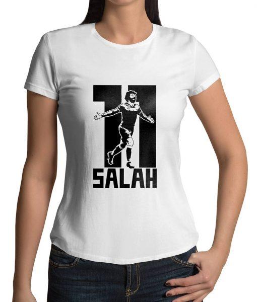 Mohamed Salah Half Slevees Logo T shirt