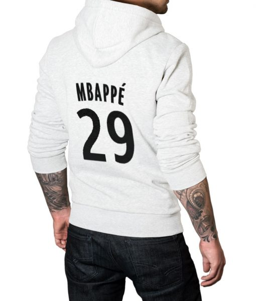 Mbappe No 29 Logo Pullover Hoodie For Men