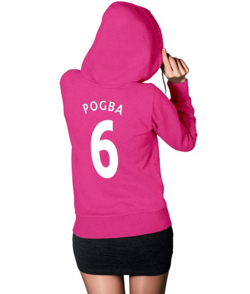Paul Pogba Logo Pullover Hoodie