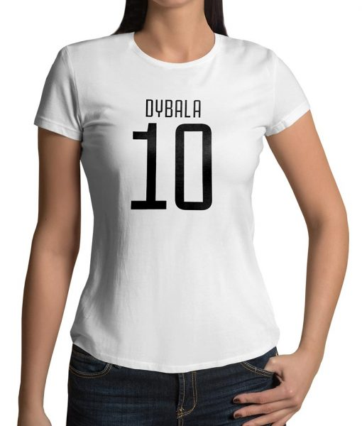 Paulo Dybala No 10 Logo Tshirt