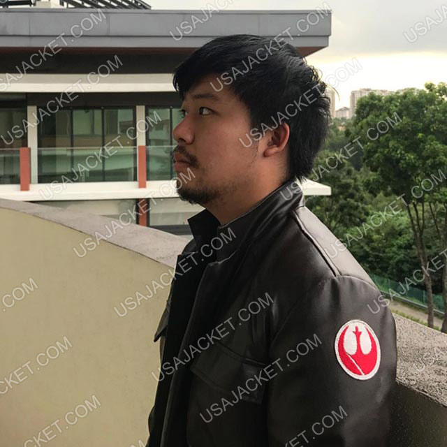 Poe Dameron The Last Jedi Jacket Customer Image