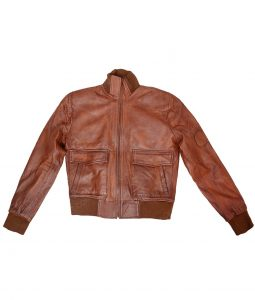 Revolution Charlie Matheson Brown Leather Jacket