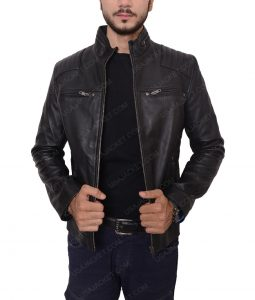 Jordan Calloway Riverdale Chuck Clayton Black Leather Jacket