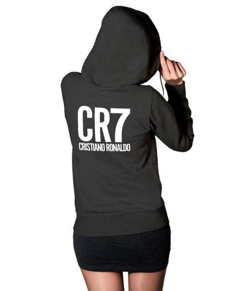Ronaldo Fans CR7 Logo Hoodie