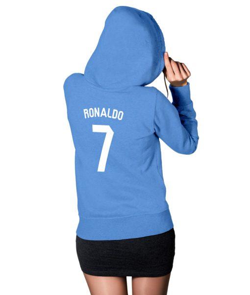 Ronaldo Fans No 7 Logo Hoodie