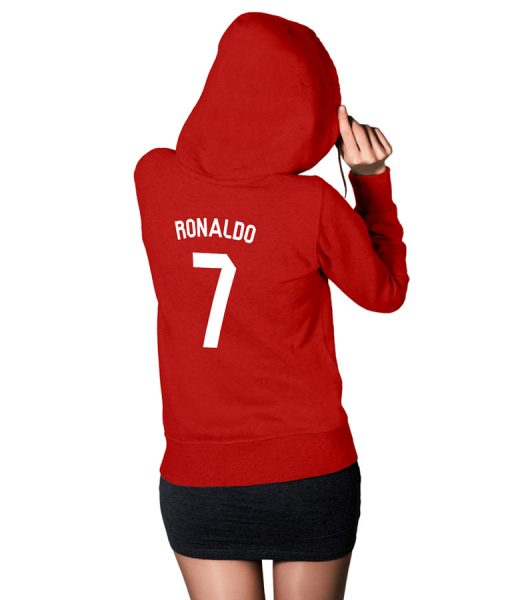 Ronaldo Fans No 7 Logo For Women