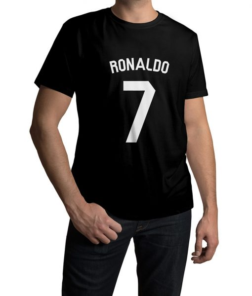 Ronaldo Logo Half Sleeves T shirt