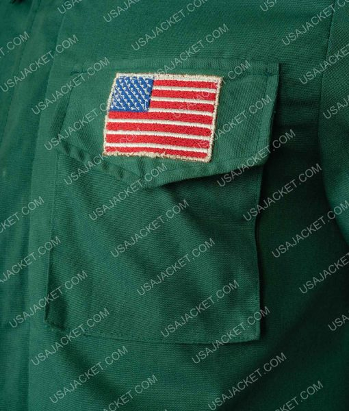 Silent Hill 2 Green Jacket With Patches