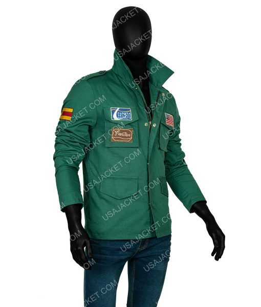Guy Cihi Silent Hill 2 James Sunderland Green Cotton Jacket