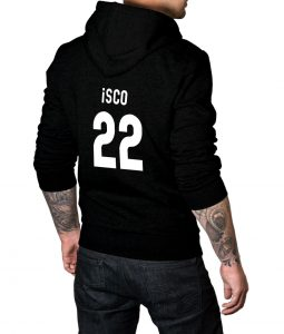 Spanish footballer Isco Hoodie