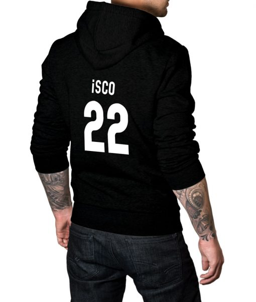 Spanish footballer Isco Logo Hoodie