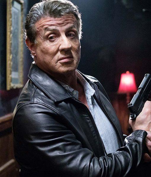 Sylvester Stallone Escape plan 2 Jacket