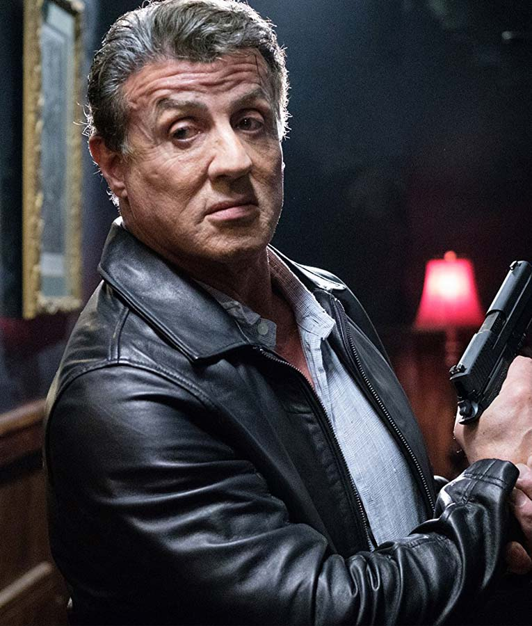 Escape plan 2 Sylvester Stallone Ray Breslin leather Jacket