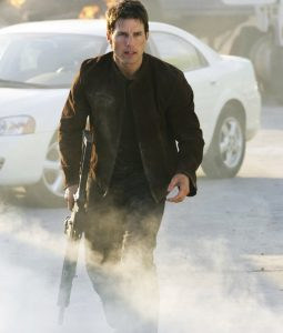 Tom Cruise Mission Suede Leather Jacket