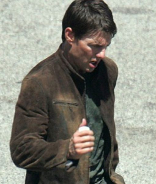 Tom Cruise Mission Impossible 3 Suede Jacket