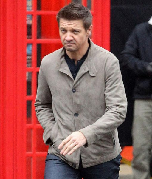 William Brandt Mission Impossible 5 Jeremy Renner Gray Cotton Jacket