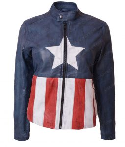 Bon Jovi Captain America Jacket