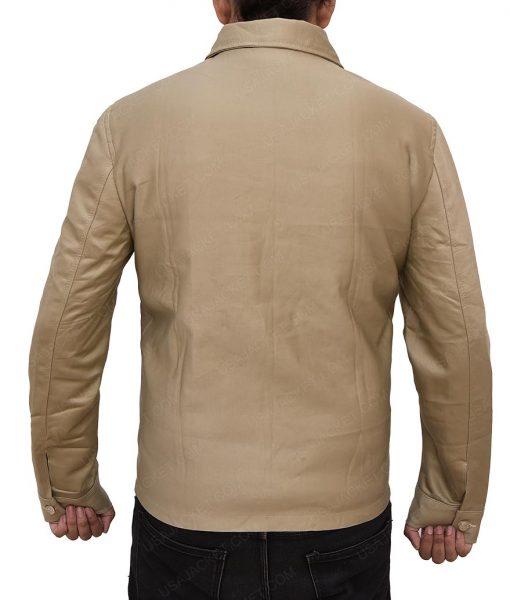 Boyd Holbrook The Predator Quinn McKenna Cotton Brown Jacket