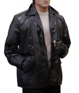 Creed 2 Sylvester Stallone Black Leather Coat