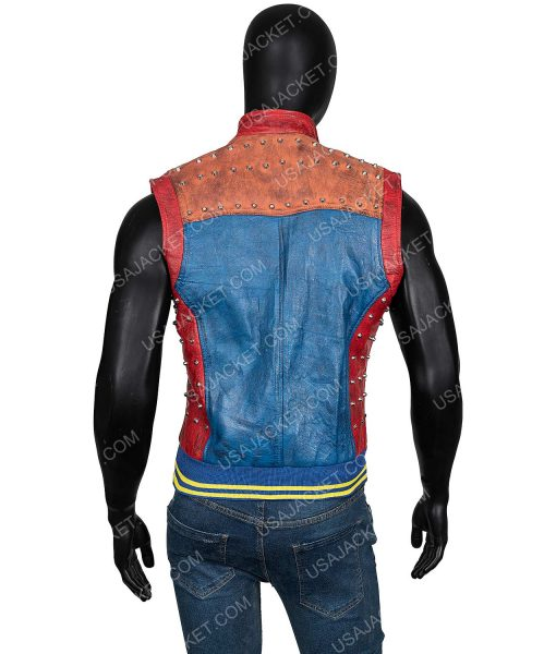 Descendants 2 Jay Booboo Stewart Leather Vest