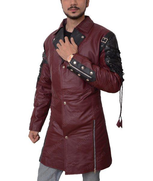 Goth Matrix Steampunk Gothic Leather Coat
