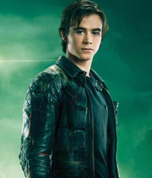 Battle Angle Keean Johnson Biker Leather Jacket
