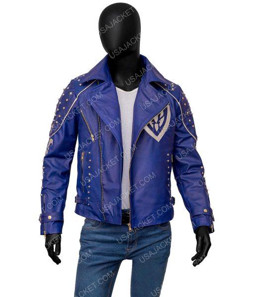 King Ben Descendants 2 Mitchell Hope Leather Jacket