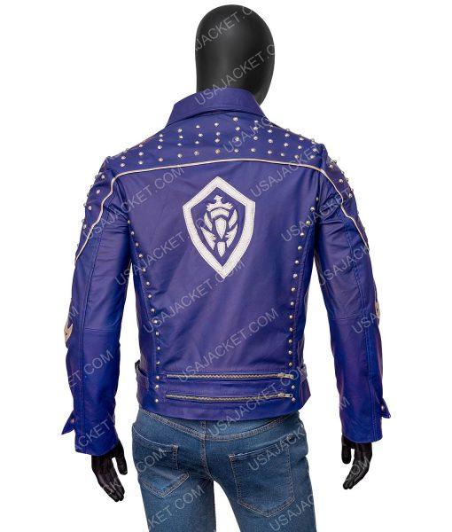 Descendants 2 Mitchell Hope Blue Studded Jacket