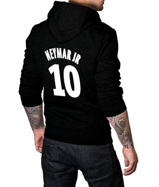 Mens-Black-10-Logo-Hoodie