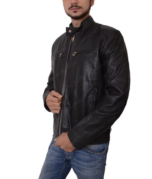 Mens Black Jacket