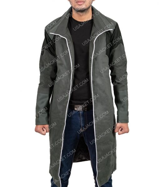 Mens Gaming Long Jacket