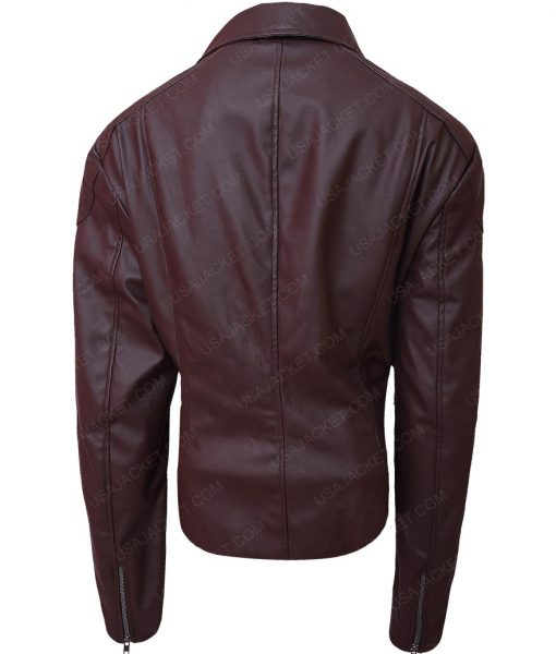 The Fate of the Furious Michelle Rodriguez Slimfit Brown Jacket