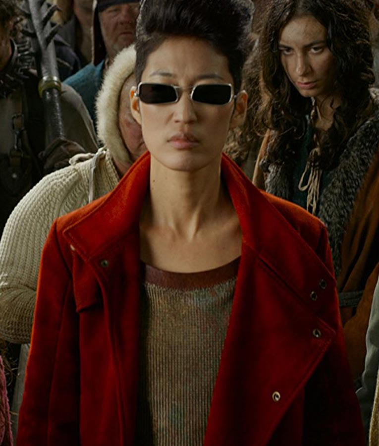 jihae anna fang mortal engines red trench coat