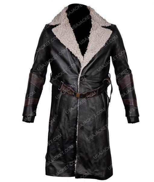 Mortal Engines Leifur Sigurdarson Trench Coat