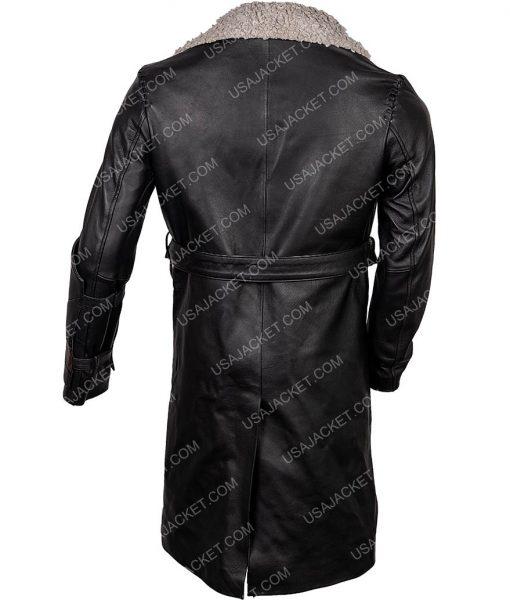 Nils Lindstrom Mortal Engines Leifur Sigurdarson Fur Long Coat