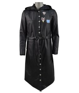 Playerunkowns Battlegrounds Black Trench Coat