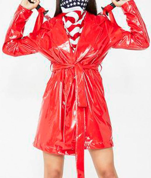 Red Band Teasers Trench Coat