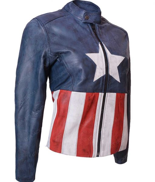 Captain America Leather Jacket