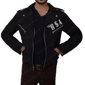 Rockers BSA Revenge George Michael Slimfit Leather Jacket