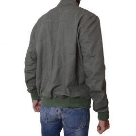 The Gunman Sean Penn Slimfit Bomber Green Jacket