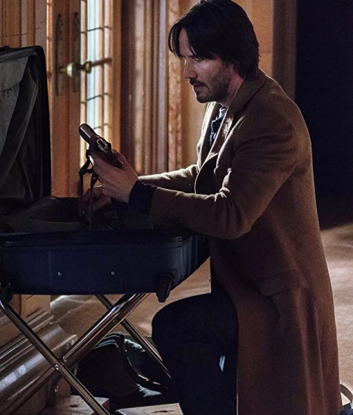 Keanu-Reeves-Brown-Wool-Long-Coat