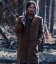 Siberia Lucas Hill Brown Wool Coat