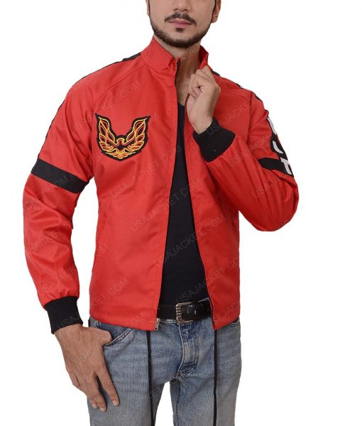 Burt Reynolds Smokey and the Bandit Red Bomber Jacket