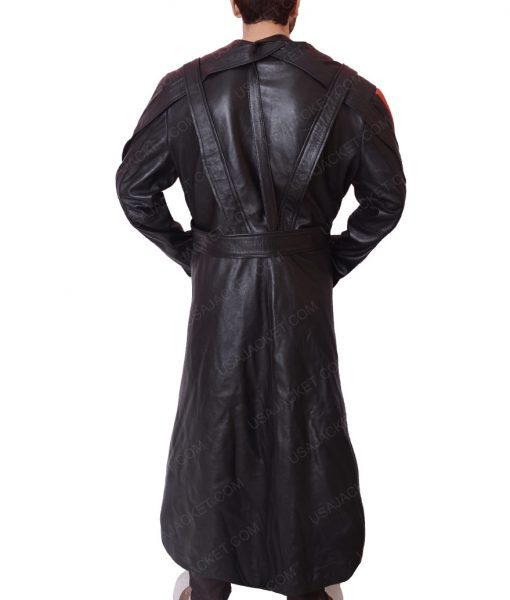 The First Avenger Red Skull Trench Coat