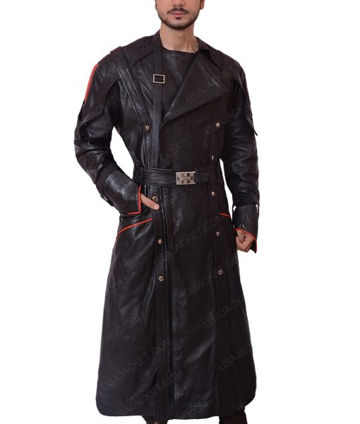 The First Avenger Red Skull Black Coat
