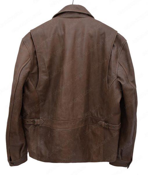 Y'lan Noel The First Purge Dmitri Brown Jacket
