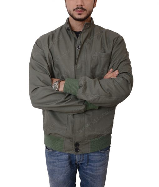 The Gunman Film Terrier Bomber Jacket