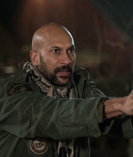 Coyle The Predator Keegan Michael Key Green Cotton Jacket